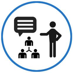 Crea un perfil personalizado y muestra y comparte en línea tu mejor trabajo. Puedes incluir un número ilimitado de presentaciones de PowerPoint, documentos de Word y Excel, archivos PDF y Sways.